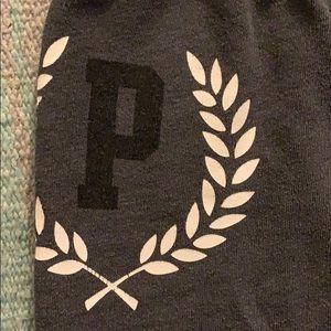 PINK sweats. XS